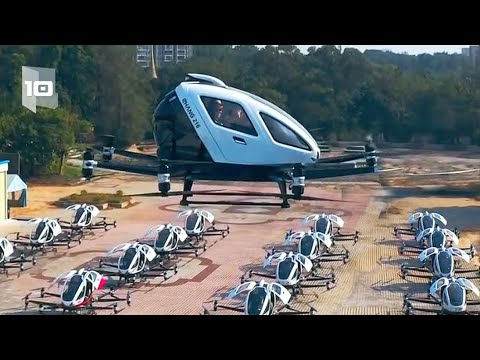 Top 10 Most Advanced Drones and Air Taxis | Top10 Files