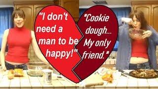 Singles Awareness Day Cookies: Chocolate, Macadamia Nut, Peanut Butter Chip