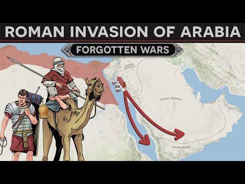 Forgotten Wars - The Roman Invasion of Arabia (26 BC) DOCUMENTARY