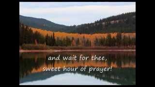 Sweet Hour Of Prayer (Hymns with lyrics)