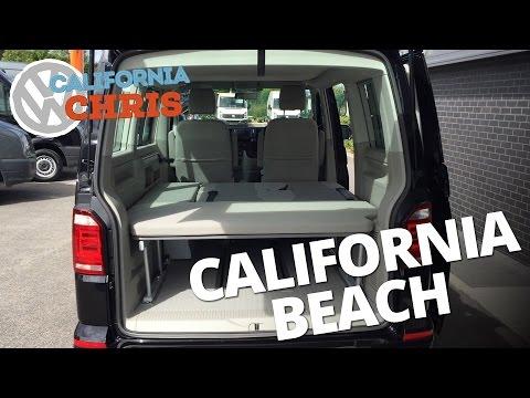 2016 Volkswagen T6 California Beach 2 seat bench video