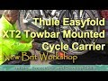Thule Easyfold XT2 Towbar Mounted Cycle Carrier