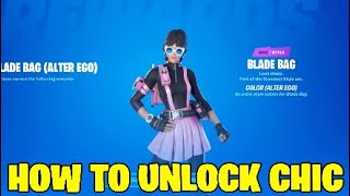 Fortnite chic skin.How to unlock chic.Spray a ...