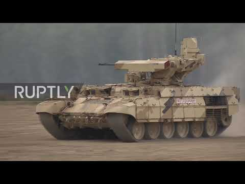 Russia: Latest Military Systems Go Into Action At 'Army'2017' Expo