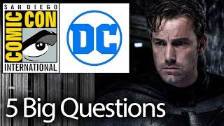 5 Biggest Questions About The WB/DC Comic-Con Presentation