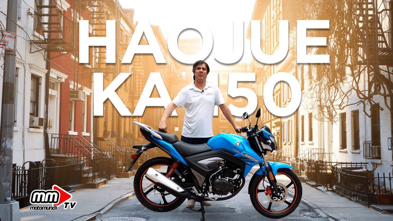 REVIEW HAOJUE KA-150 La moto más vendida del segmento urbano. - YouTube