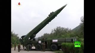 فيديو.. كوريا الشمالية تطلق صاروخًا جديدًا