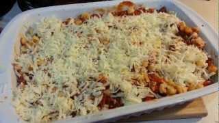Italian Pasta And Cheese Bake