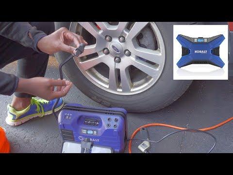 Kobalt 12-Volt Car Air Inflator (Free Air)