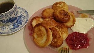 Оладьи на кефире пышные рецепт как приготовить вкусно и быстро на ужин домашние видео