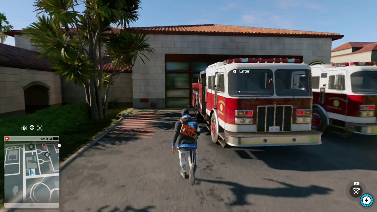 Watch Dogs  Fire Station