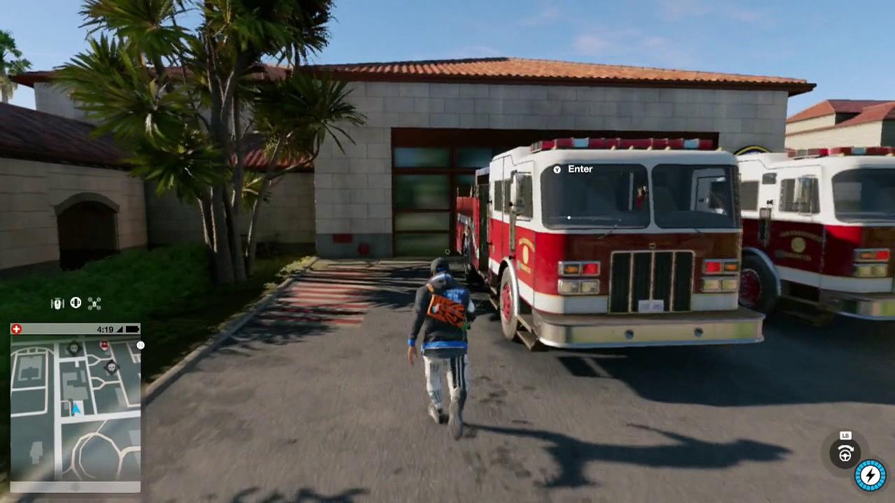 Watch Dogs  Fire Truck Location