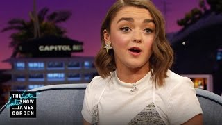 Maisie Williams Crashed a Game of Thrones Watch Party