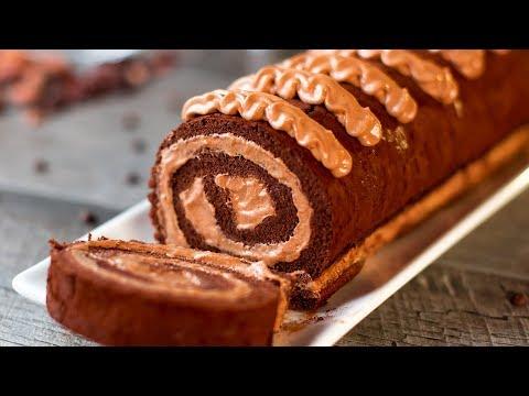 gâteau-roulé-au-chocolat-–-un-dessert-merveilleux-et-délicat-!-|-savoureux.tv