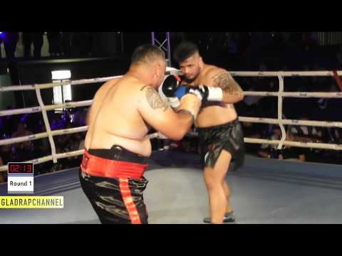 Samoa vs Tonga! Mokai Paraha vs Junior Pati - TOKOUSO SHOW DOWN - WPBF & UBF Titles