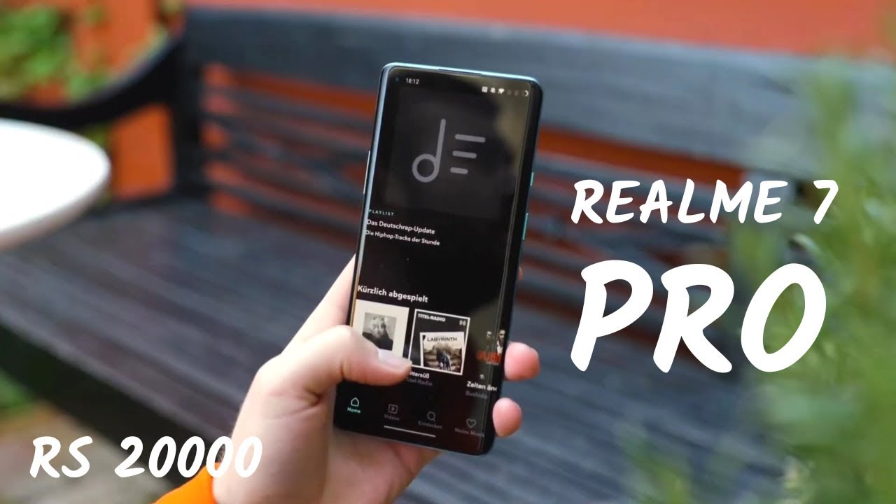 Realme 7 Pro - 44MP PopUp Selfie 😯 Specifications & Launch ...