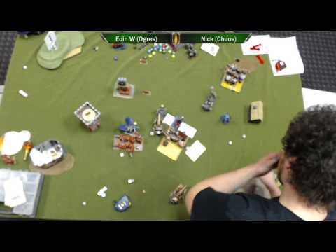 Warhammer Fantasy: Brawler Bash 8, Round 2 - Eoin Whelan v Nick Hall