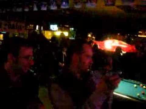 KDE karaoke 4.0 party dance: Aaron, Wade, Justin