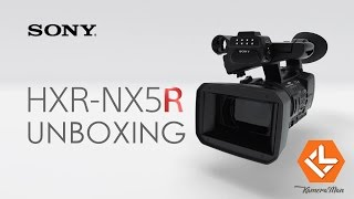 Sony HXR-NX5R Camcorder India, First Unboxing on Youtube in Hindi: KameraMan