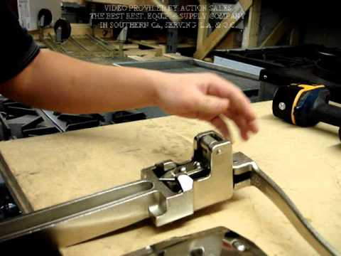 action sales restaurant equipment&supply-how to change blade and gear for  edlund #1 can opener - youtube