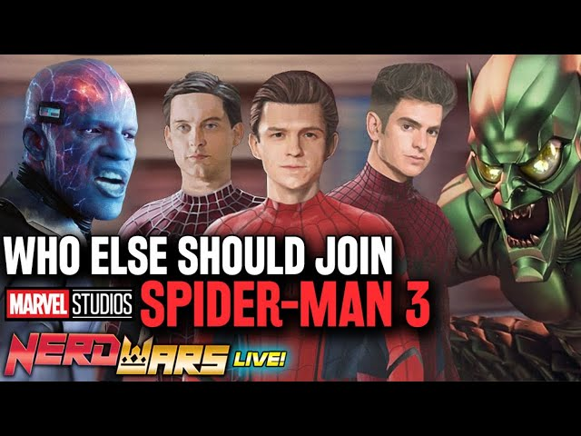 Electro Joins Spider-Man 3 - Who Else Should Join Marvel's Spider-Verse Movie? - Nerd Wars