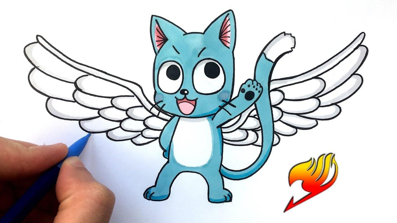 Dessin happy fairy tail youtube - Dessin de fairy tail ...