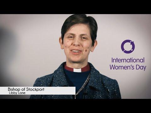 International Women's Day 2016 - Bishop of Stockport Libby Lane (#IWD2016)