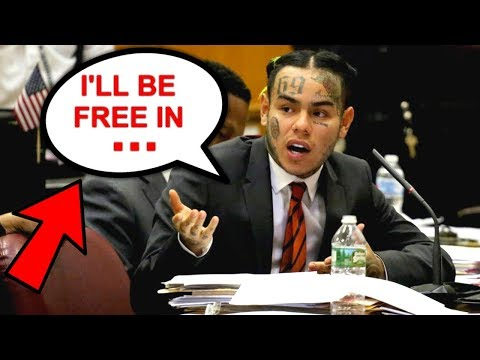 6ix9ine announces when he will be let free