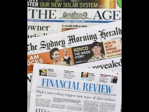 Newspaper archive' s The Daily Mirror, Sun ,Australian ,Times