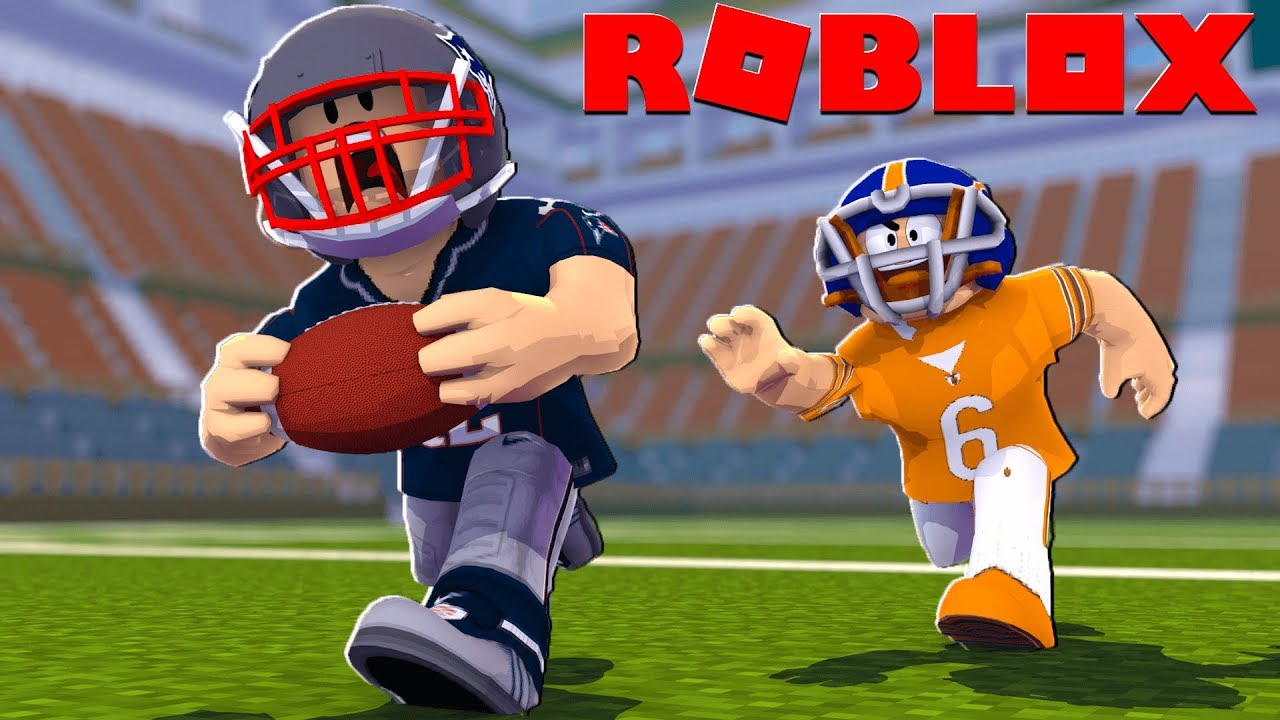 Roblox NFL FOOTBALL MOVIE - Patriots vs Bears! (Legendary Football)