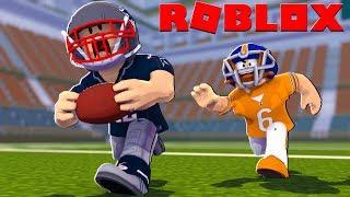 Roblox NFL FOOTBALL MOVIE - Patriots vs Bears! (Legendary Football)