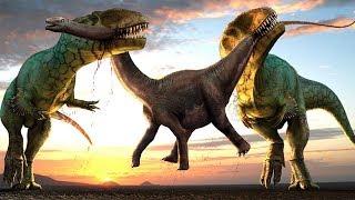 10 Größte Dinosaurier, die die Erde beherrschten!