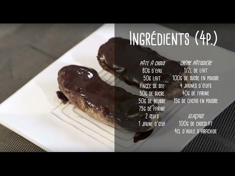 recette-d'éclairs-au-chocolat