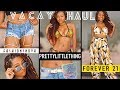 SLAY-CATION | Vacation Summer Try On Haul 2018 | Forever 21 Fashion Nova Pretty Little Thing