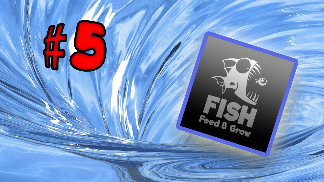 Feed and grow fish simulator awesome update youtube for Feed and grow fish online