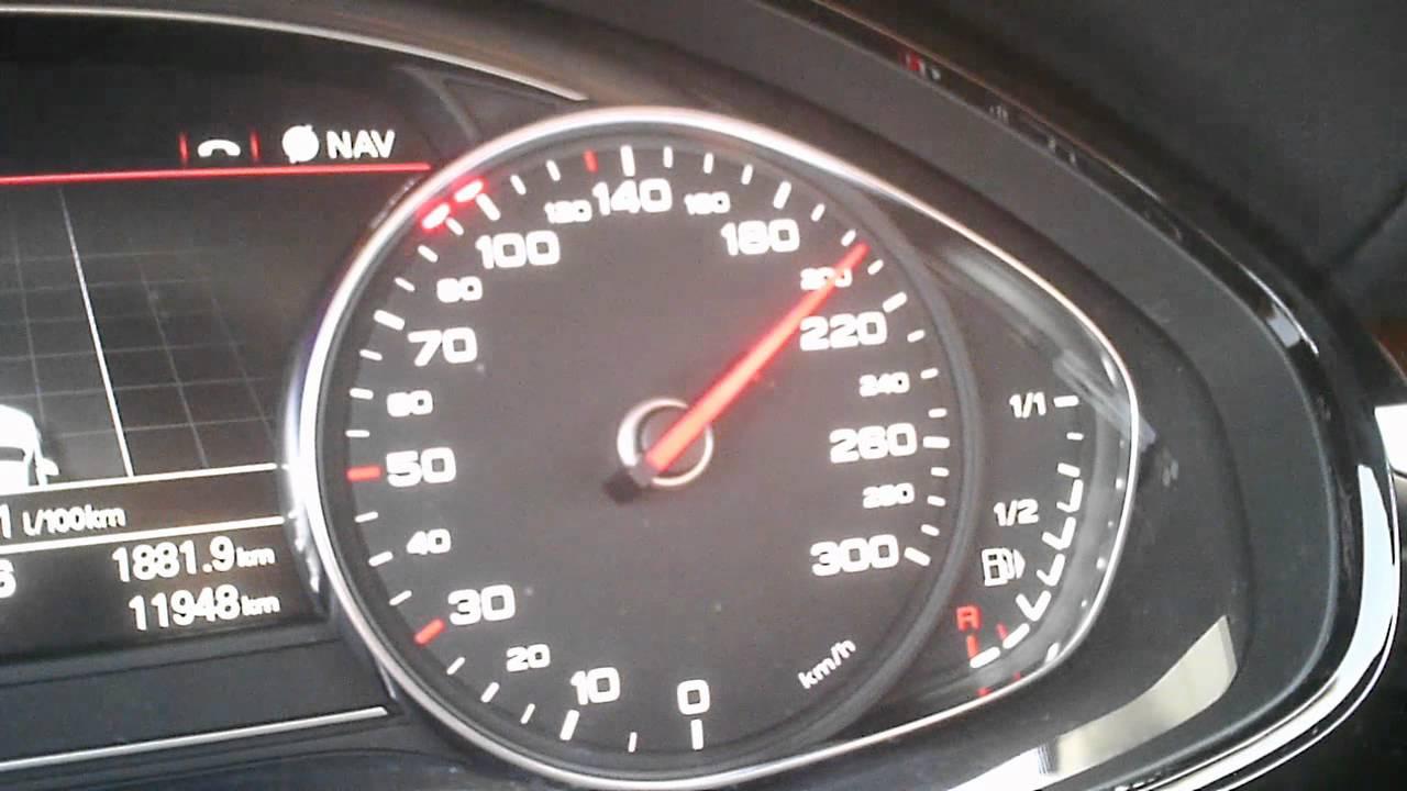 Audi A8 4 2 Tdi Quattro Full Acceleration 0 200 Km H
