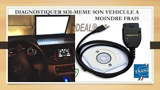 "Scanner/Reprogrammer une voiture simplement (""valise"" cable OBD2)"