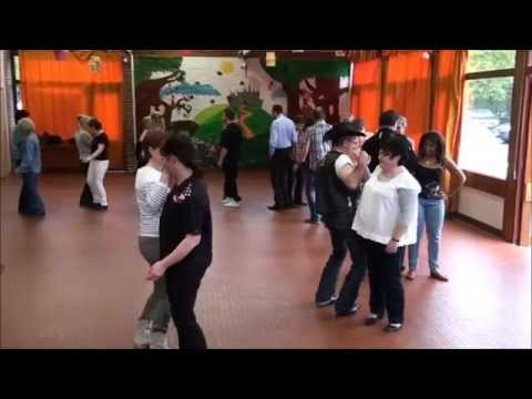 Line Dance Reggae Cowboy Contra Group Teach