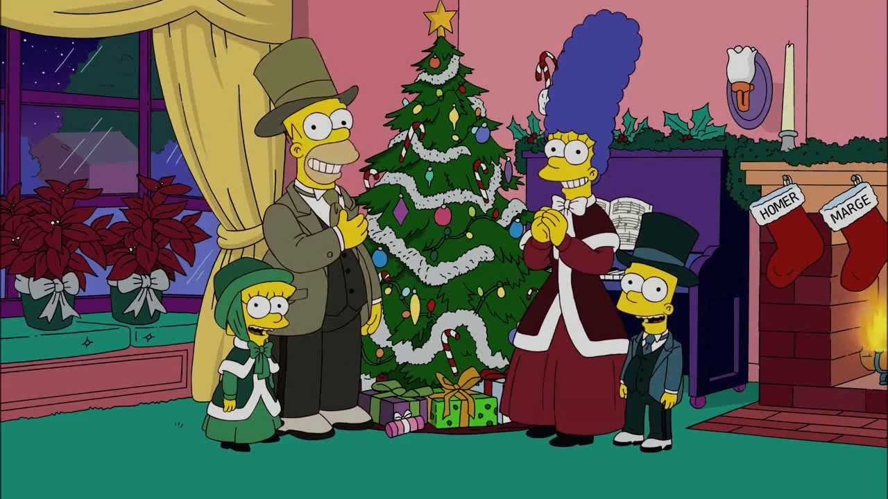 Christmas Simpsons.The Simpsons The Twelve Days Of Christmas