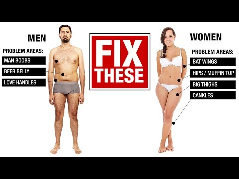 How to Lose Fat the Right Way (MEN VS WOMEN!)