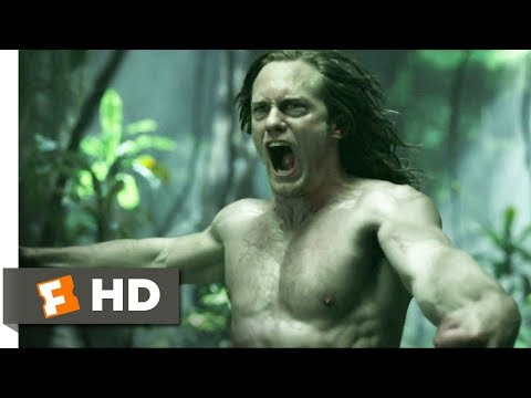 The Legend of Tarzan (2016) - Battle with Akut Scene (4/9) | Movieclips