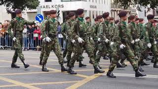 Military parade in Lisbon, 100th anniversary of the Great war (World war I) part 1