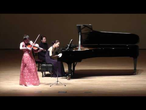 J.Brahms: Sonata for Viola and Piano No.1 in F minor op.120-1 〜1st mov. / Meguna Naka