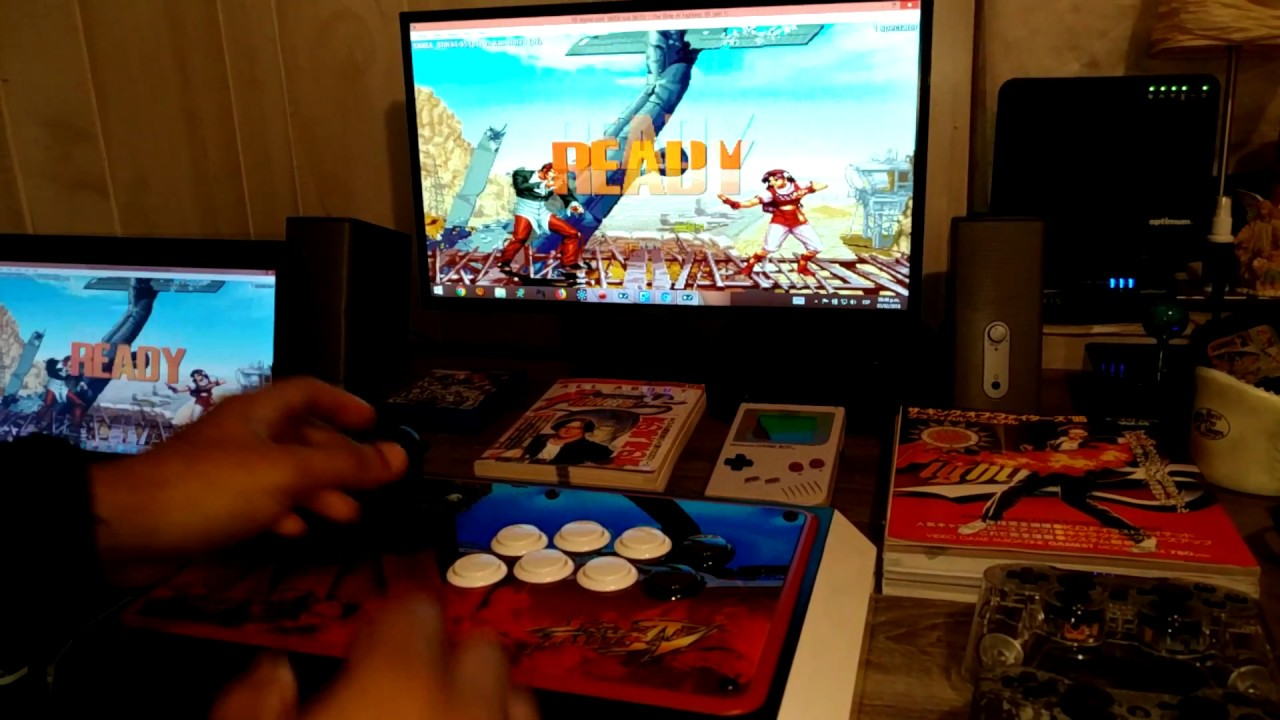 FIGHTCADE MATCHES [ FIGHTSTICK MODE ] by SIMBA_SNK94-95