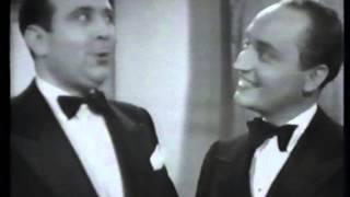 """Charpini et Brancato film 1938 """"La Mascotte"""" duo des Dindons (Audran) ."""