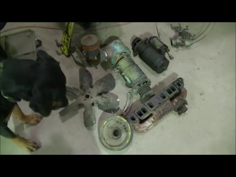Clark IT-40 Forklift Engine Replacement Part 3 of 9