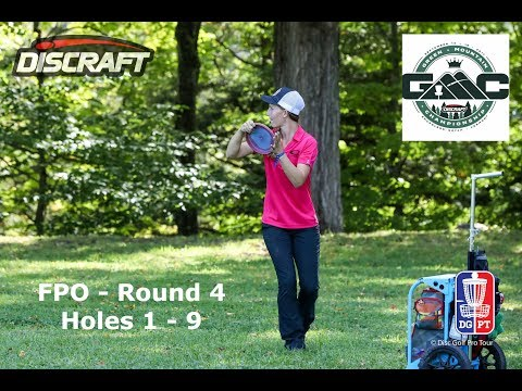 FPO Round 4, Front 9: Discraft's Green Mountain Championship