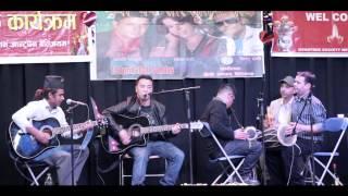 Birata ko chino acoustic cover-Naresh Karki-Guman Pun-Amar Rana