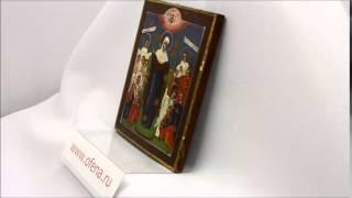 Купить икону в Москве Старинная икона Богородица Всех Скорбящих Радость. D0034(, 2015-02-18T14:44:42.000Z)