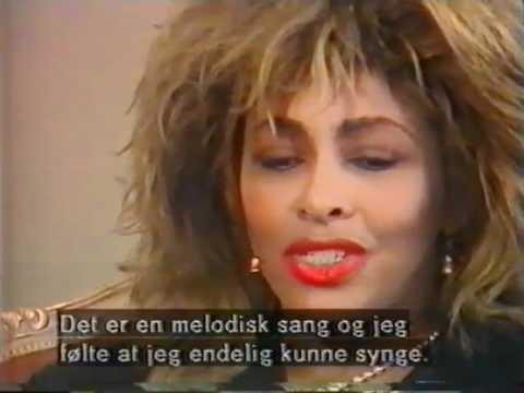 TINA TURNER - Interview in Denmark 1986 (TV-Avisen)